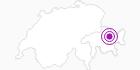 Unterkunft Berghostel Jschalp in Davos Klosters: Position auf der Karte