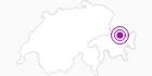 Unterkunft Pension Casa Erla in Davos Klosters: Position auf der Karte