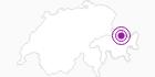 Unterkunft Ferienheim Seen in Davos Klosters: Position auf der Karte