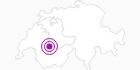 Unterkunft Feriendörfli Stöckli in Gstaad - Saanenland: Position auf der Karte
