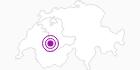 Unterkunft Ferienhaus Zimmerboden in Gstaad - Saanenland: Position auf der Karte