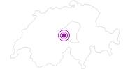 Unterkunft Ferienhaus Bergkreuz in Obwalden: Position auf der Karte