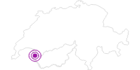 Unterkunft Chalet les Pierrailles in Portes du Soleil - Chablais: Position auf der Karte