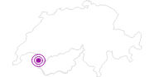Unterkunft Chalet Les Planoz in Portes du Soleil - Chablais: Position auf der Karte