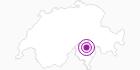 Accommodation Albergo Rubino in Bellinzona and Upper Ticino: Position on map