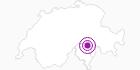 Accommodation Albergo San Martino in Bellinzona and Upper Ticino: Position on map