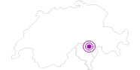 Unterkunft Ostelo Adula al Riale in Bellinzona und Nord-Tessin: Position auf der Karte