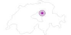 Accommodation Berggasthaus Haggenegg in Schwyz: Position on map