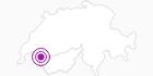 Unterkunft Fewo Les Maisons in Portes du Soleil - Chablais: Position auf der Karte