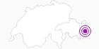 Unterkunft Berghaus Astras in Davos Klosters: Position auf der Karte