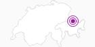 Accommodation Chalet Arflina in the Prättigau: Position on map