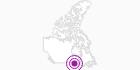Unterkunft Landmark Hotel in Südwest-Ontario: Position auf der Karte