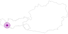 Unterkunft Apart Anja in Paznaun - Ischgl: Position auf der Karte