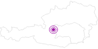 Unterkunft Haus Hohe Rams in Ramsau am Dachstein: Position auf der Karte