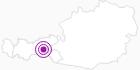 Unterkunft Apparthaus Alpina im Zillertal: Position auf der Karte