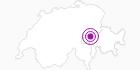 Unterkunft Bergsporthotel Crestas in Surselva: Position auf der Karte