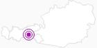 Unterkunft Haus Gletscherblick im Zillertal: Position auf der Karte