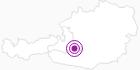 Unterkunft Hotel Pension Gell in Obertauern: Position auf der Karte