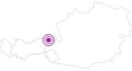 Unterkunft Bärfeld SkiWelt Wilder Kaiser - Brixental: Position auf der Karte