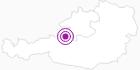 Unterkunft Haus-Alpenblume im Salzkammergut: Position auf der Karte