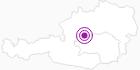 Unterkunft Stegerhütte in Ausseerland - Salzkammergut: Position auf der Karte
