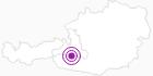 Unterkunft Hotel Evianquelle im Gasteinertal: Position auf der Karte