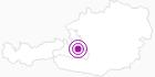 Unterkunft Hotel Lisa in der Salzburger Sportwelt: Position auf der Karte