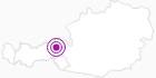 Unterkunft Landhaus Wallner in der Ferienregion Hohe Salve: Position auf der Karte