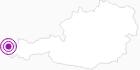 Unterkunft Hotel Walisgaden im Bregenzerwald: Position auf der Karte