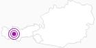 Unterkunft Venet Gipfelhütte in Tirol West: Position auf der Karte