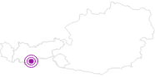 Accommodation Haus Gstrein Ötztal: Position on map