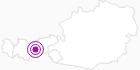 Accommodation Haus Hubertus in Stubai: Position on map