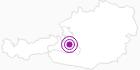 Unterkunft Blockhaus Zwislegg in der Salzburger Sportwelt: Position auf der Karte