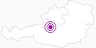 Accommodation Gosauschmied in the Dachstein Salzkammergut: Position on map