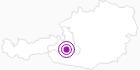 Unterkunft Villa Alpen Rose im Gasteinertal: Position auf der Karte