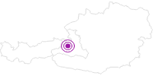 Unterkunft Urlaubsparadies Liebmannhof am Hochkönig: Position auf der Karte