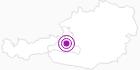 Unterkunft Hotel Bergheimat am Hochkönig: Position auf der Karte