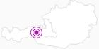 Unterkunft Bauernhof Obererlach in Nationalpark Hohe Tauern: Position auf der Karte