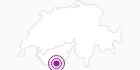 Unterkunft Cervinia apartments in Zermatt: Position auf der Karte