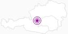 Unterkunft Wander- und Langlaufhotel Almfrieden in der Hochsteiermark: Position auf der Karte