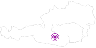 Unterkunft Appartements Zirbenalm in der Urlaubsregion Murtal: Position auf der Karte