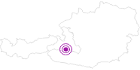 Unterkunft Komfort-Familienbauernhof Zittrauerhof **** im Gasteinertal: Position auf der Karte