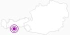 Accommodation Pension Bergkristall Ötztal: Position on map