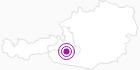 Unterkunft Gästehaus-Egger im Gasteinertal: Position auf der Karte