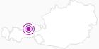Accommodation Obertuschenhof at the Lake Achen: Position on map