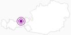 Accommodation Landhaus Mayr at the Lake Achen: Position on map