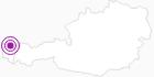 Unterkunft Gästehaus Gitti Dorner im Bregenzerwald: Position auf der Karte