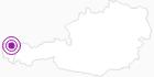 Unterkunft Bauernhof Lipburger Sonne im Bregenzerwald: Position auf der Karte