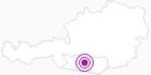 Unterkunft Ferienwohnungen Fryba in der Region Nockberge Bad Kleinkirchheim: Position auf der Karte