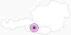 Unterkunft Pension Fam. Naschenweng in Hohe Tauern - die Nationalpark-Region in Kärnten: Position auf der Karte